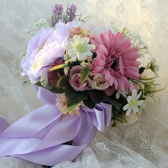 Classic Hand-tied Satin/Cloth Bridal Bouquets