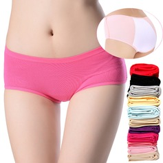 Cotton/Modal Feminine Panties (Set of 3,Random colors)