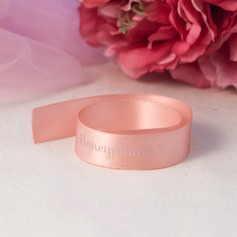 Personalized 3D Letter Polyester Ribbon