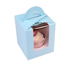 Lovely Basket Cupcake Boxes