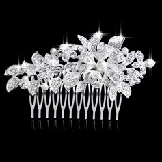 Gorgeous Rhinestone/Alloy/Imitation Pearls Combs & Barrettes