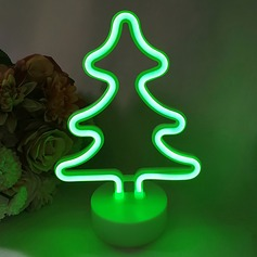 Tree Design Lovely Plastic LED Lights