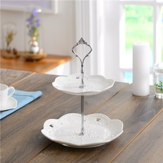 Ceramic 2Tier Cake Stand / Cake Tower / Cake Dishware Party Decors