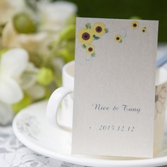 Personalized Flower Design Card Paper Tags