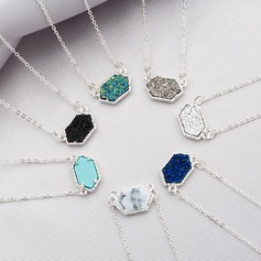 Bridesmaid Gifts - Beautiful Alloy Resin Necklace