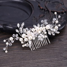 Glamourous Alloy Combs & Barrettes With Pearl (042155626)