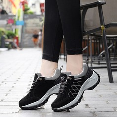 Women's suede With Lace-up Sneakers