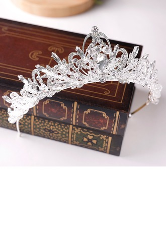 Ladies Glamourous Alloy Tiaras (Sold in single piece)