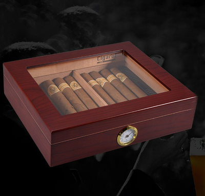 Groom Gifts - Vintage Wooden Humidor