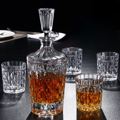 Groomsmen Gifts - Elegant Glass Decanter Set