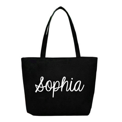 Bridesmaid Gifts - Personalized Classic Polyester Tote Bag