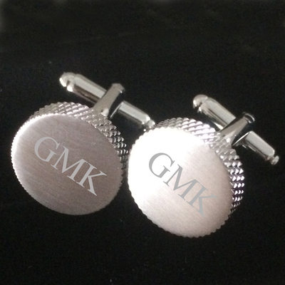 Groomsmen Gifts - Personalized Zinc alloy Cufflinks