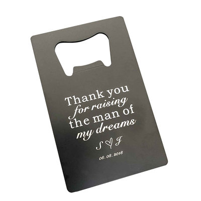 Groom Gifts - Personalized Elegant Aluminum Bottle Opener