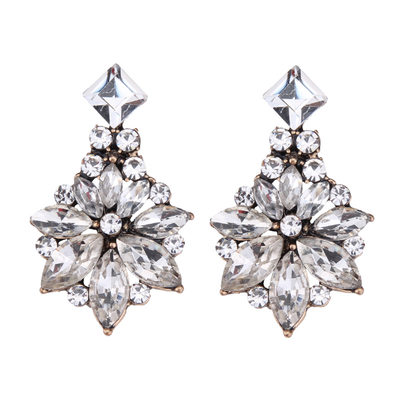 Bridesmaid Gifts - Elegant Vintage Alloy Zircon Earrings (Set of 2)