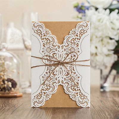 Personalized Classic Style/Modern Style Gate-Fold Invitation Cards/Birthday Cards/Response Cards/Thank You Cards/Greeting Cards
