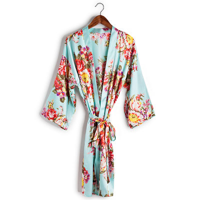 Bridesmaid Gifts - Beautiful Classic Fashion Charmeuse Robe
