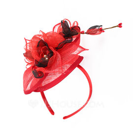 Ladies' Simple/Nice/Pretty Cambric With Flower Fascinators