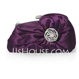 Elegant Silk Clutches (012012255)