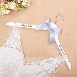 Bride Gifts - Personalized Classic Wooden Hanger (255184456)