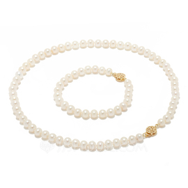 """Attrayant Pearl/""""AAA"""" perle Dames Parures (011055150)"""