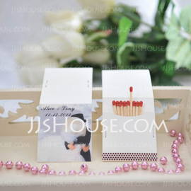 Personalized Bride And Groom Hard Card Paper (Set of 50) (118031614)