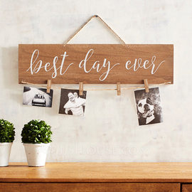 Simple/Classic/Nice Lovely/Pretty Wooden Wedding Sign (131179174)