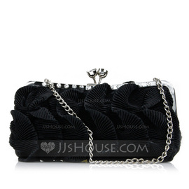 Lovely Silk Clutches (012052482)