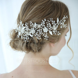 Classic Alloy Hairpins With Rhinestone/Venetian Pearl/Crystal (Sold in single piece) (042192939)