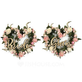 Nice/Beautiful Nice/Lovely/Pretty/Beautiful Wooden Wedding Ornaments/Decorative Accessories (Sold in a single piece) (131179081)