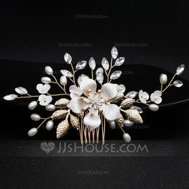 Fashion Alloy Combs & Barrettes (Sold in single piece) (042191494)