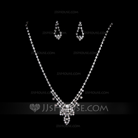Simple Alliage/Strass Parures (011055145)