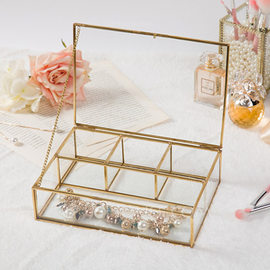 Bride Gifts - Glass Alloy Jewelry Box (255183199)