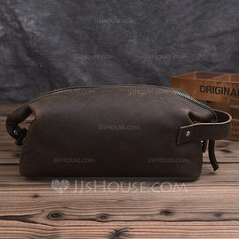 Groom Gifts - Vintage Leather Dopp Kit Bag (257176858)