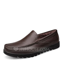 Men's Real Leather Casual Men's Loafers (260176585)