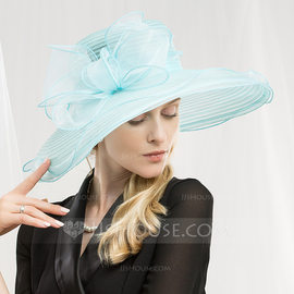 Ladies' Fashion/Glamourous/Unique/Eye-catching/High Quality/Artistic Organza Floppy Hat/Kentucky Derby Hats (196178754)