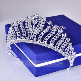 Ladies Beautiful Alloy Tiaras (Sold in single piece) (042203839)