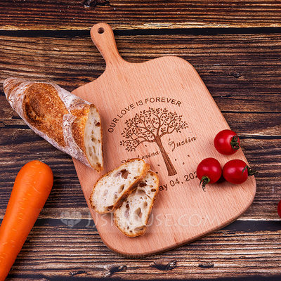 Vintage HighQuality Personalized Wooden Cutting Board