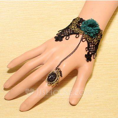Exquisite Alloy Lace Ladies' Fashion Bracelets