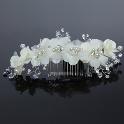 Lovely Alloy/Artificial Silk Combs & Barrettes
