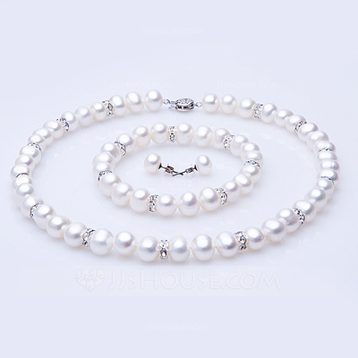"Pretty Pearl/""A"" Level Pearl Ladies' Jewelry Sets"