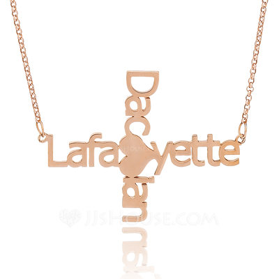 Bride Gifts - Personalized Eye-catching Sterling Silver Necklace