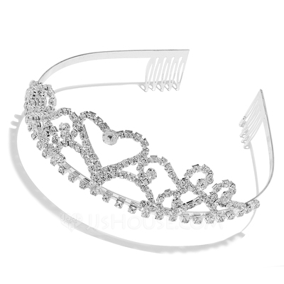 Fashion Rhinestone/Alloy Tiaras