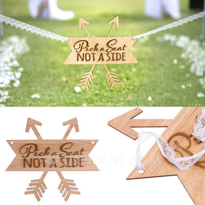 Classic/Beautiful Nice/Lovely/Pretty/Beautiful Wooden Wedding Ornaments/Decorative Accessories (Sold in a single piece)