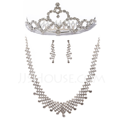 Fashional Alloy With Rhinestone Ladies' Jewelry Sets