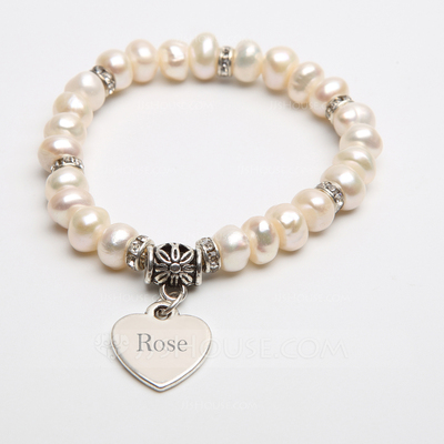 Personalized Pearl Ladies'/Child's Bracelets