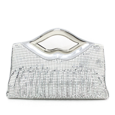 Shining Sequin With Metal Clutches