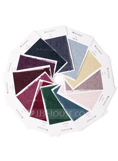 [Free Shipping] Single Color Lace Swatch