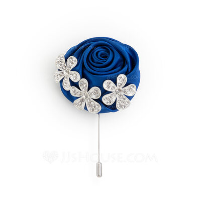 Formal Alloy Charmeuse Boutonniere