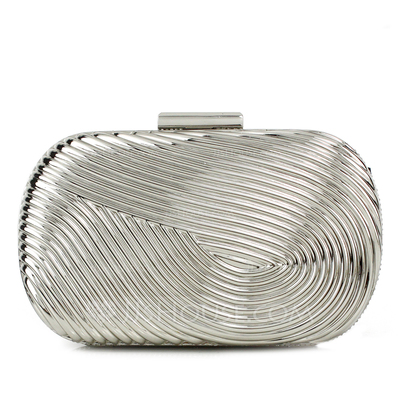 Gorgeous Metal With Rhinestone Clutches