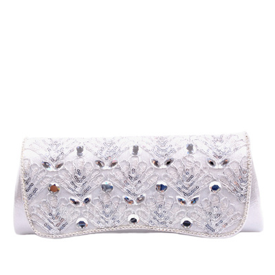 Charming Lace/PU With Sequin/Rhinestone Clutches